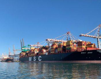 MSC relanza el tráfico de contenedores de Gioia Tauro
