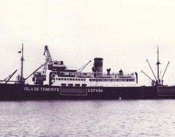 El Tesoro de EE.UU. asaltó al barco canario después del ataque de Pearl Harbor. Antes había transportado judíos de diversas nacionalidades a EE.UU. Triangulaba a través de Gran Canaria y Tenerife, donde tenía su base
