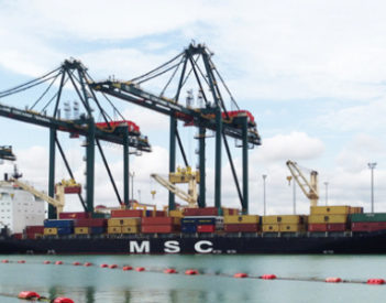 El Puerto de Lomé, un relevo estratégico para el MSC en África, para su nuevo servicio de carga.
