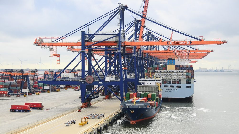 La disrupción de la supply chain se deja notar en los resultados trimestrales de Rotterdam