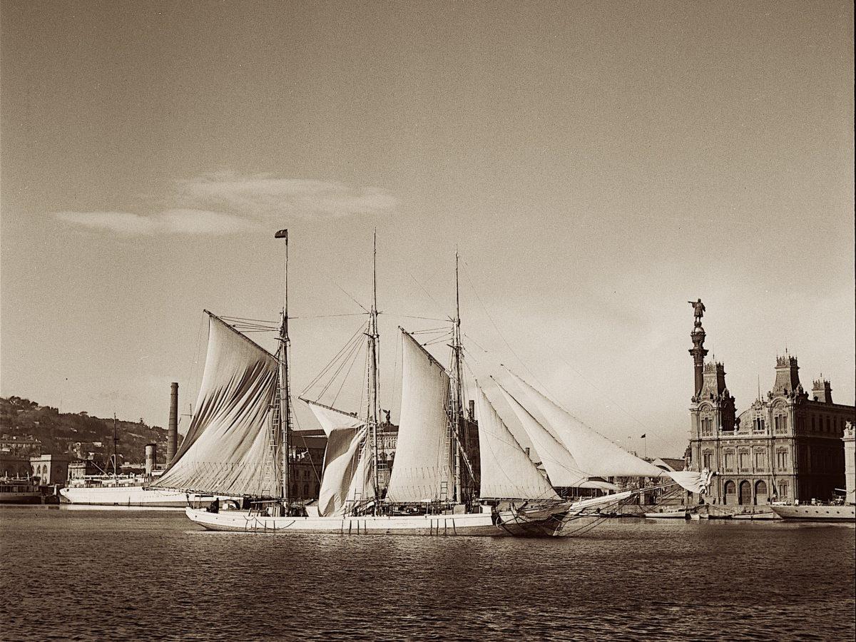 El puerto de Barcelona de Tusquets: de un contenedor de Palma al fondo del Museu Marítim