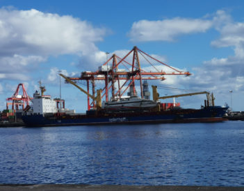El tráfico portuario en Puertos de Las Palmas cae un 11% en el mes de abril, a excepción de la actividad internacional