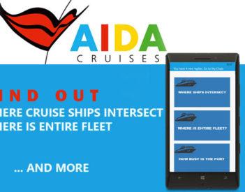 AIDA Cruises: ¿Dónde está toda la flota? ¿Dónde se cruzan los cruceros?