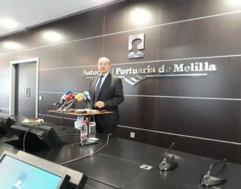 """El presidente de la Autoridad Portuaria Víctor Gamero dice que el Puerto de Melilla """"está en la UCI"""""""