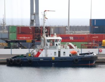 Ya opera en el Puerto de Arrecife el remolcador VB Guanche de Boluda