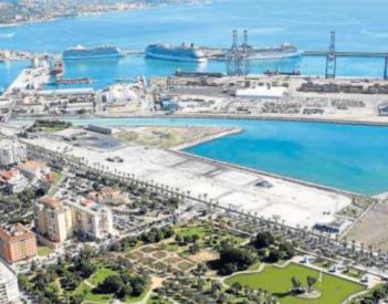 Málaga vuelve a pedir el suelo del Auditorio gratis, a lo que se opone el Puerto