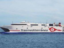 Los dueños de la naviera Trasmediterránea formalizan la solicitud del rescate público