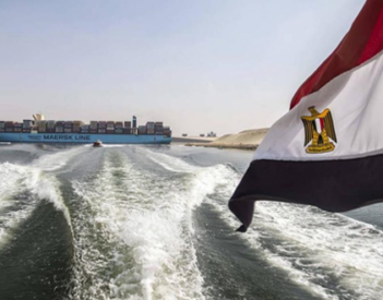 Los ingresos del Canal de Suez descienden el 3,3% en el 2020