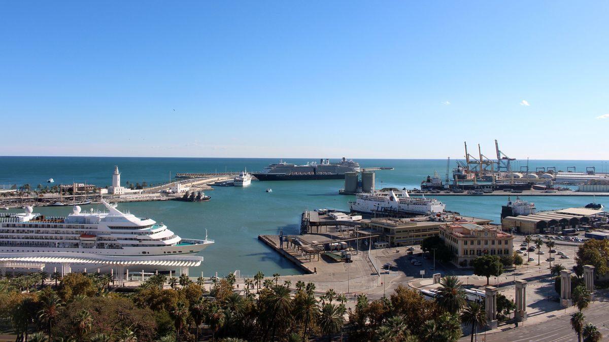 El pufo que emergió tras un accidente ya tiene sentencia: condenados dos ex ingenieros del Puerto de Málaga que certificaron obras inexistentes