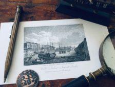 El embarcadero canario de Londres