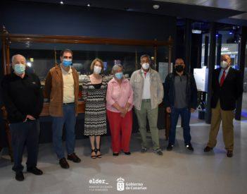 """Reunión en el Museo Elder para preparar la exposición titulada: """"Influencia británica en Canarias"""""""